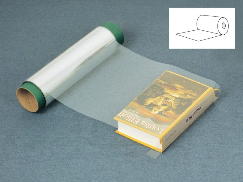 Lecto-Eau-Vive: Polyester book jacket cover in roll | RM