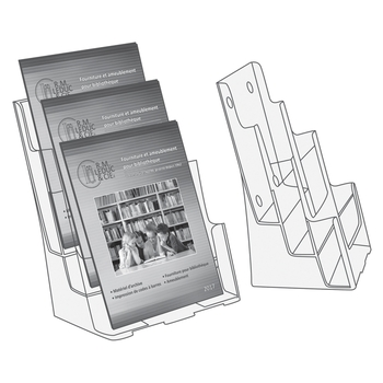 Display magazine size, 3 compartments
