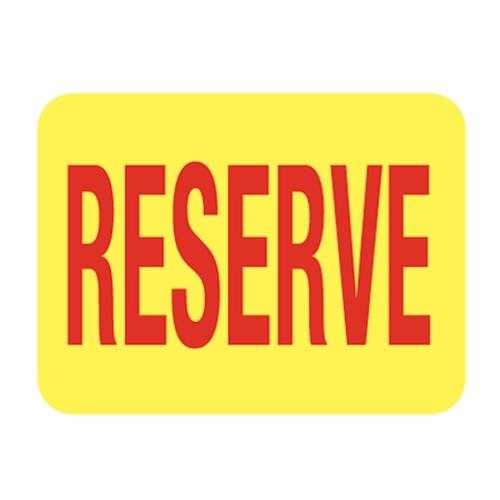 Tiquette r serve fournitures rangements et pr sentoirs for Bureau reserve 13 rdp