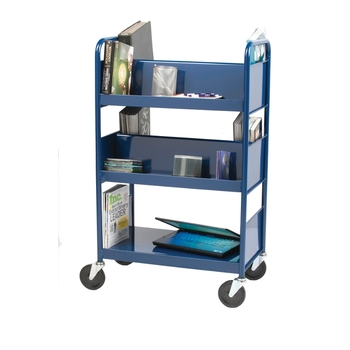 Biofit Steel book truck / 5 shelves
