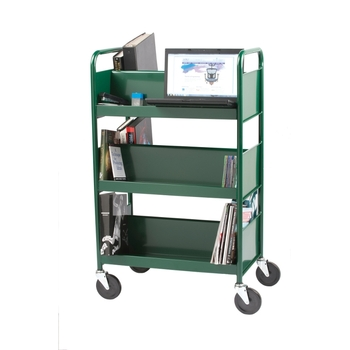 Biofit Steel book truck / 6 shelves