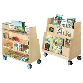 Rolling book shelf by HABA®