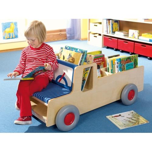 rangement camion haba ameublement enfant pr sentoirs. Black Bedroom Furniture Sets. Home Design Ideas