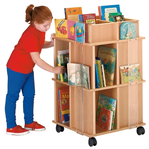 biblioth que mobile haba ameublement enfant pr sentoirs. Black Bedroom Furniture Sets. Home Design Ideas