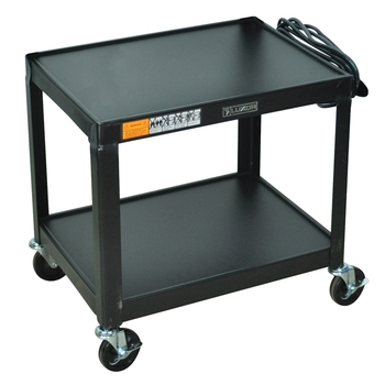 Audio-visual metal cart