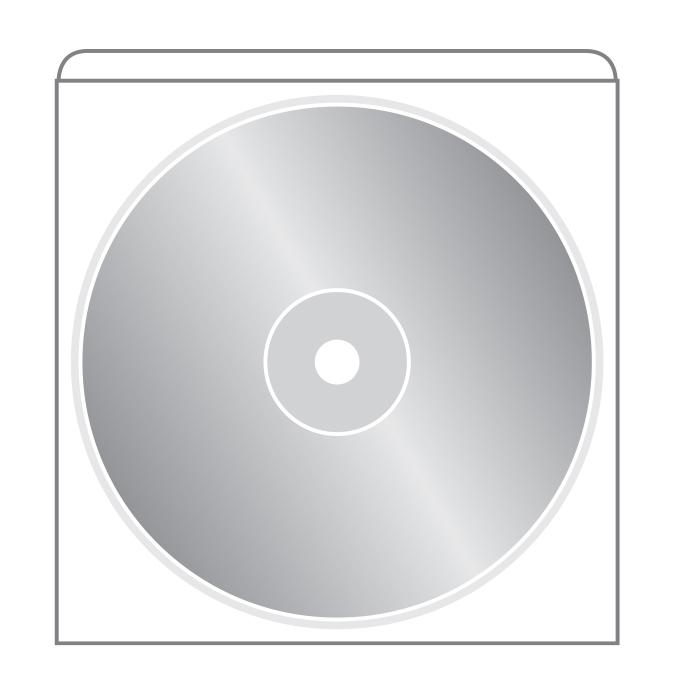 pochette adh sive transparente pour cd rm leduc cie. Black Bedroom Furniture Sets. Home Design Ideas