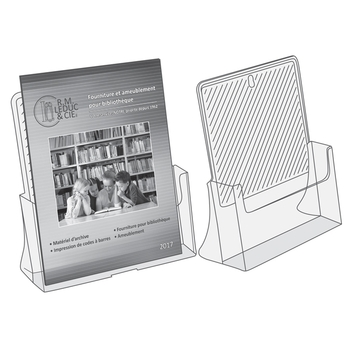 Display magazine size, 1 compartment