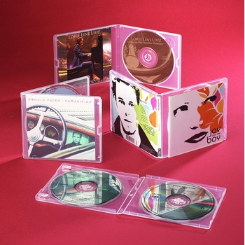 Heavy-duty CD case