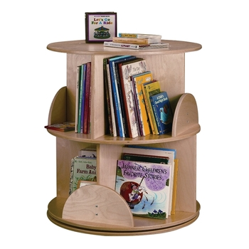 Book Carousel / 2 tiers from Whitney Brothers