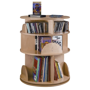 Book carousel / 3 tiers from Whitney Brothers