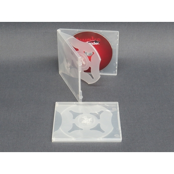 Polypropylene CD case - 4 CDs