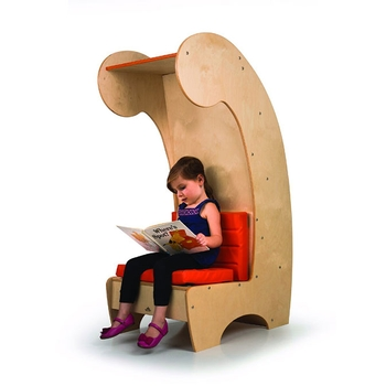 Contemporary reading chair - high