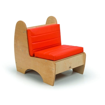 Contemporary reading chair - low