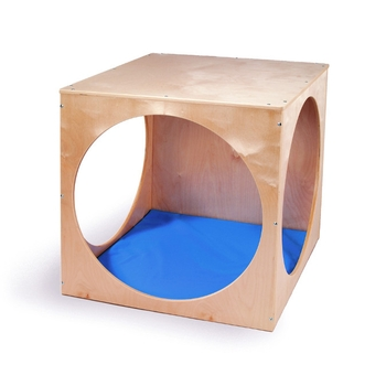 Play house cube and floor mat