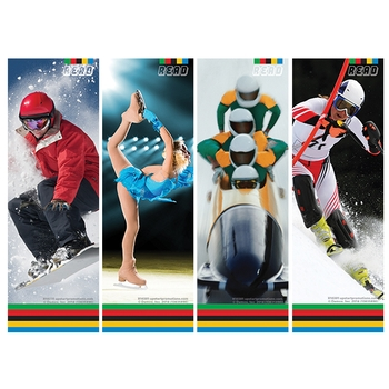 Bookmark - Winter sports