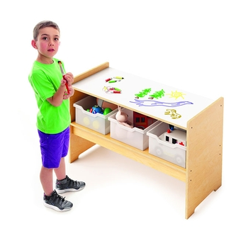 Play table with marker board top from Whitney Brothers