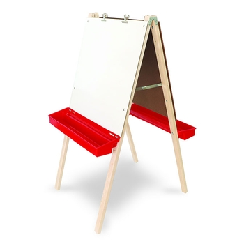 High adjustable easel from Whitney Brothers