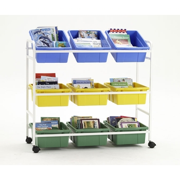 9 tubs storage cart from Copernicus®