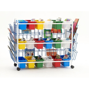 Deluxe 18 tubs storage cart from Copernicus®