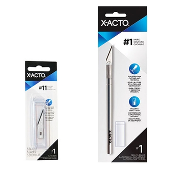 X-Acto® no 1 precision knife and blades