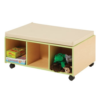 Mobile bench with storage from Demco®