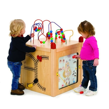 Funny face activity island from Children's furniture Company®