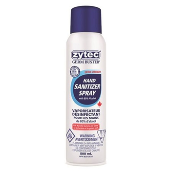 Zytec hand sanitizer spray