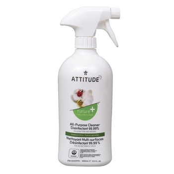 Attitude purpose cleaner disinfectant