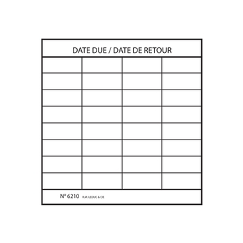 Date due slips