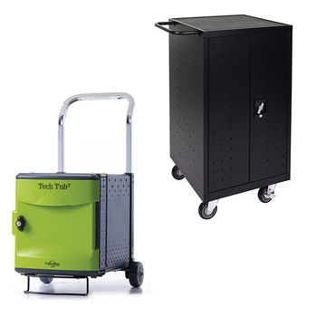 Laptop/tablets charging carts